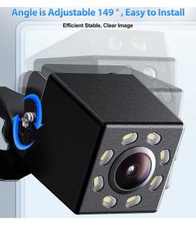 Камера за задно виждане с нощен режим 8 LED - 3