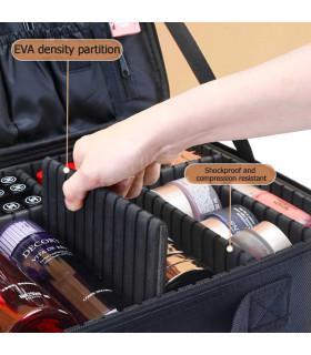 Професионален куфар-органайзер за козметика - 14