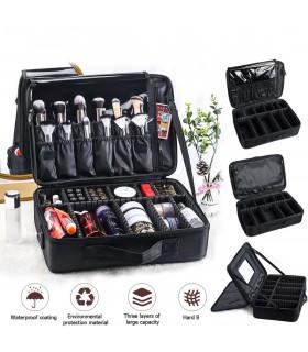 Професионален куфар-органайзер за козметика - 3