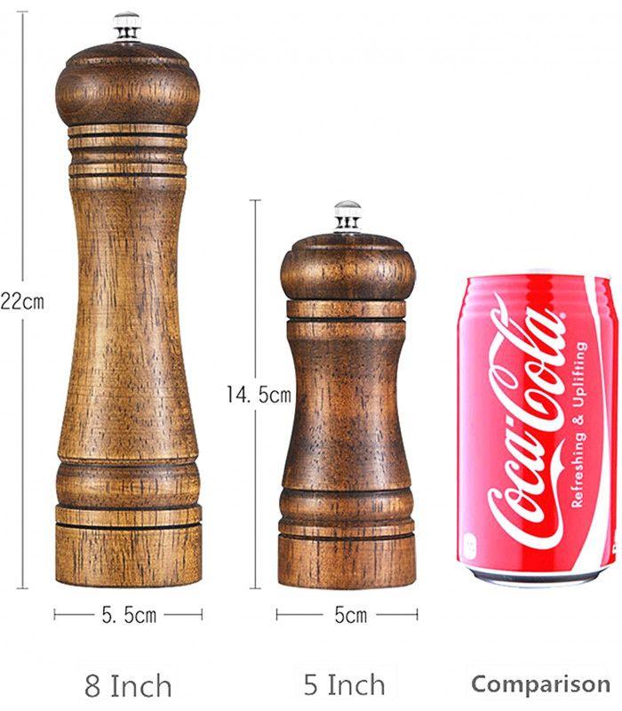 Дървена мелничка за черен пипер - 2