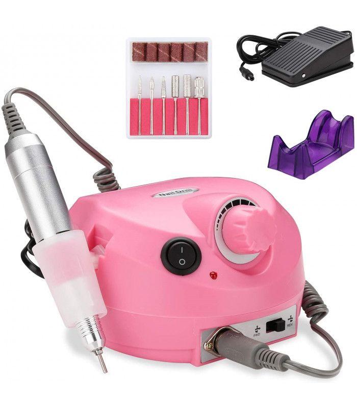 Професионална електрическа пила за нокти с педал - 4