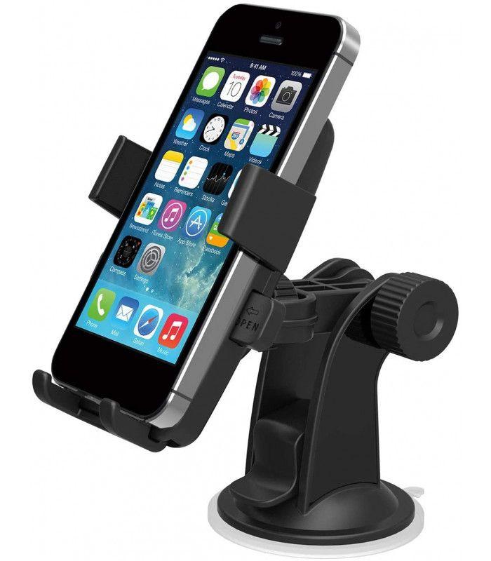 Вакуумна стойка за телефон за кола - 2867 - 3