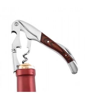 Тирбушон за вино с дървена дръжка - 1