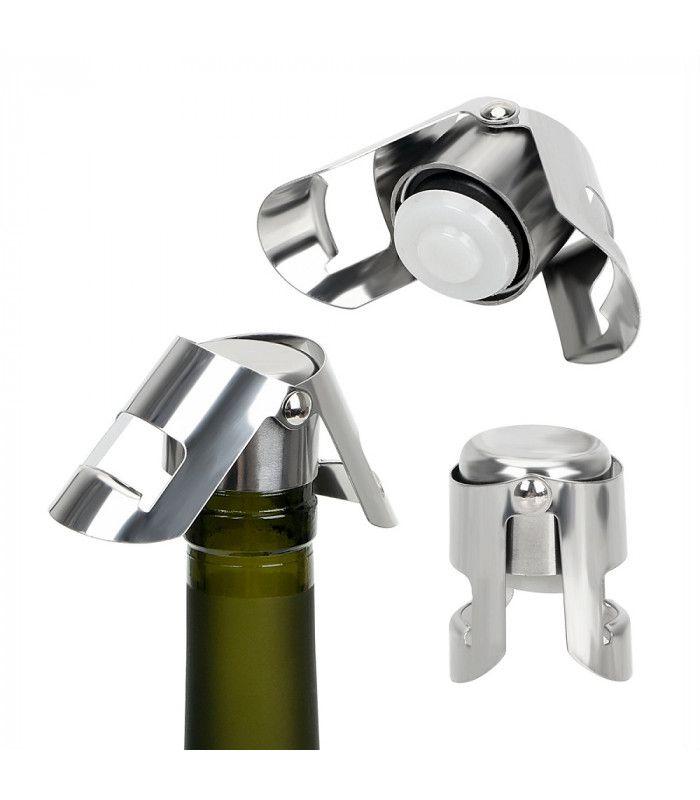 Метална тапа за вино за многократна употреба - 4