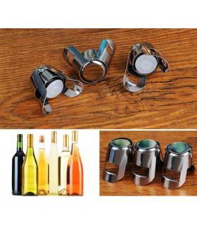 Метална тапа за вино за многократна употреба - 7