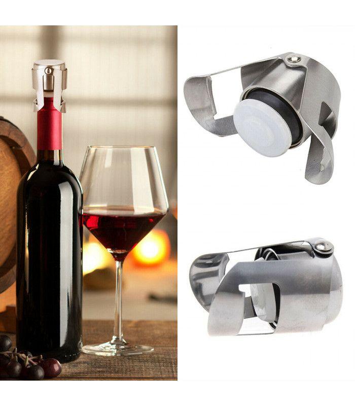 Метална тапа за вино за многократна употреба - 2