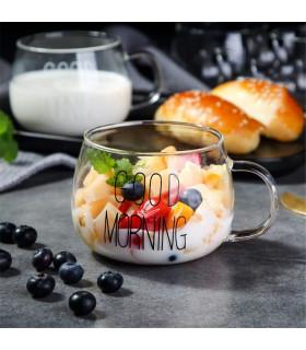 Стъклена чаша Good Morning 400мл - 1