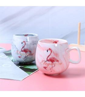"Керамична чаша ""Фламинго"" - 2"
