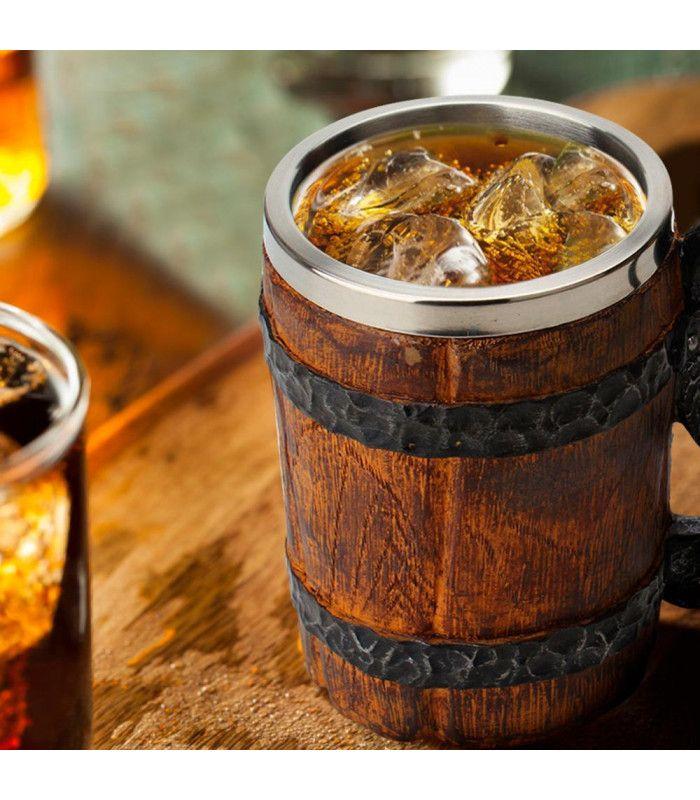 Халба за бира с форма на бъчва - 3