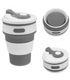 Сгъваема силиконова чаша - 1
