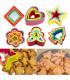 Комплект 5бр. пластмасови форми за сладки - 1