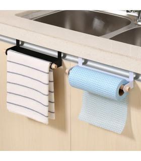 Поставка за ролка кухненска хартия или кърпа за вратичка - 3