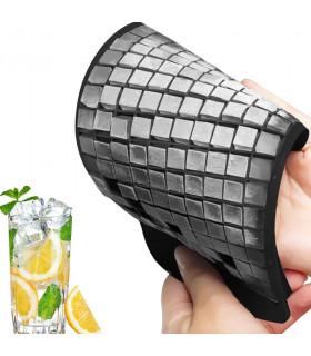 Силиконова форма за 160 броя ледени кубчета - 1