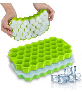 Силиконова форма за лед пчелна пита - 1