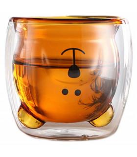 Чаша за кафе двойно стъкло МЕЧЕ - 1