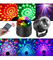 LED парти лампа проектор с дистанционно управление