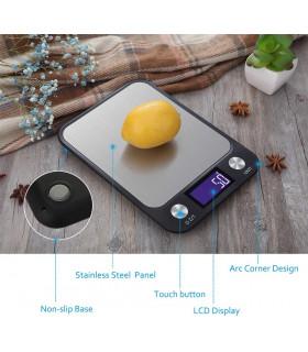 Кухненска везна с електронен дисплей до 5 кг - 3