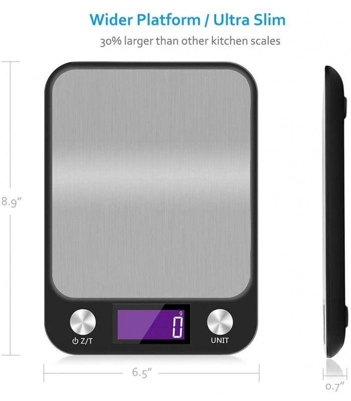 Кухненска везна с електронен дисплей до 5 кг - 5