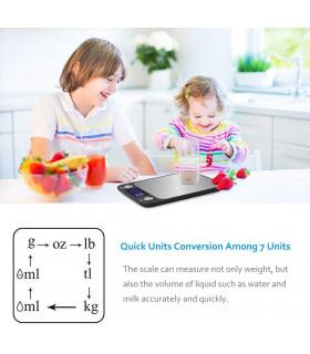 Кухненска везна с електронен дисплей до 5 кг - 6
