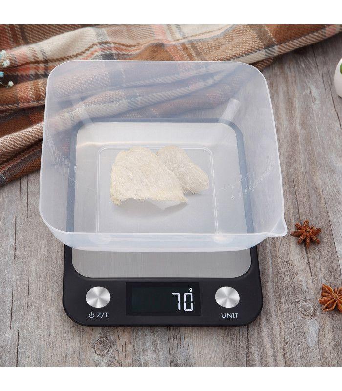 Кухненска везна с електронен дисплей до 5 кг - 10