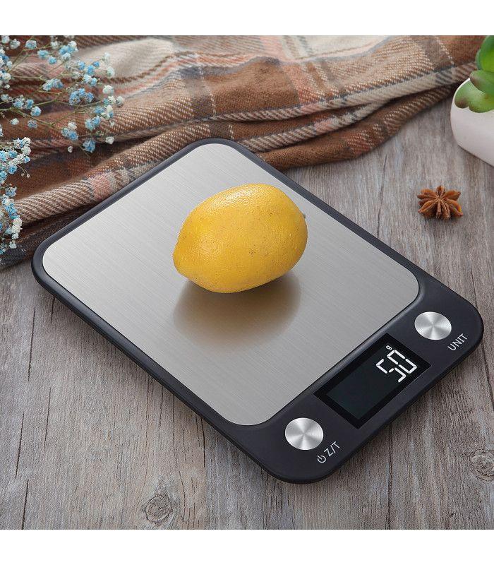 Кухненска везна с електронен дисплей до 5 кг - 8