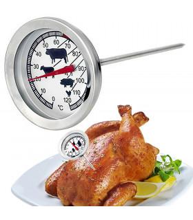 Стоманен готварски термометър за месо - 5