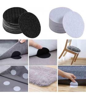 5 чифта велкро лепенки против пързаляне на килими - 1