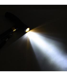 Регулируем бастун със стабилна основа и фенерче - 6