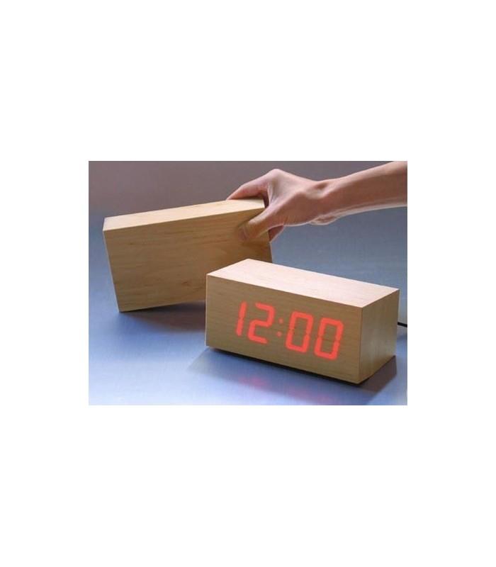 Настолен бамбуков часовник