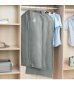 Сив калъф за съхранение на дрехи