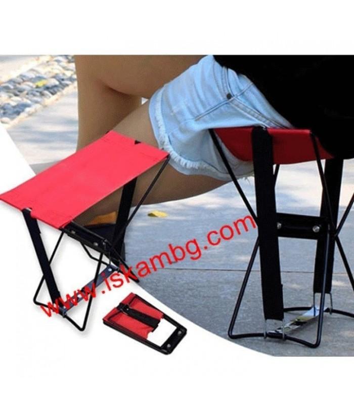 Джобен стол Pocket Chair за риболов, за плажа, за пикник - 4