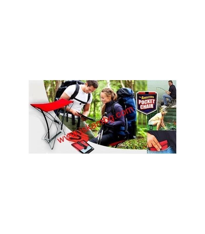 Джобен стол Pocket Chair за риболов, за плажа, за пикник - 5