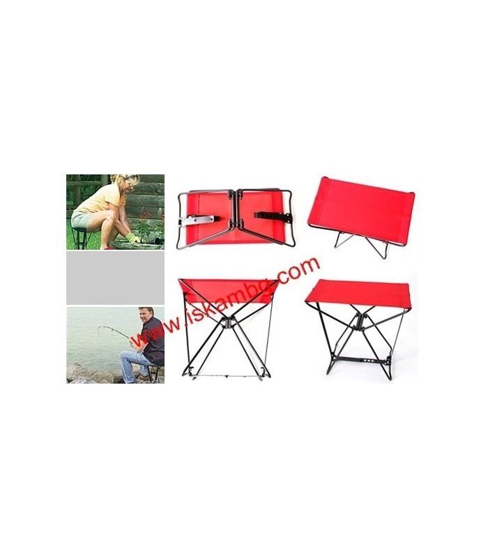 Джобен стол Pocket Chair за риболов, за плажа, за пикник - 9