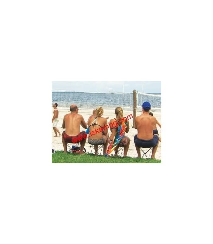 Джобен стол Pocket Chair за риболов, за плажа, за пикник - 11