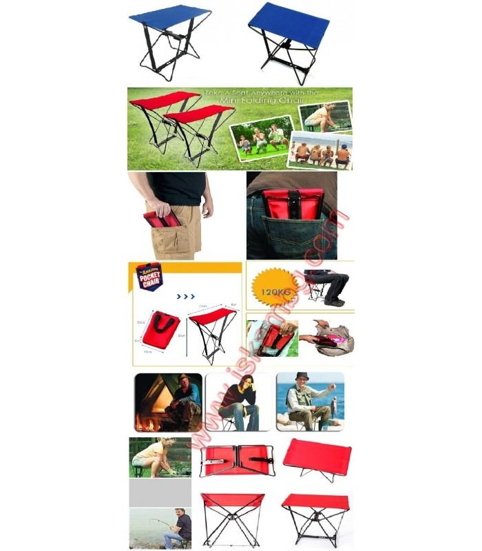 Джобен стол Pocket Chair за риболов, за плажа, за пикник - 19