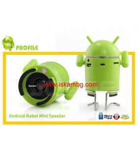 MP3 Тонколонка Android с USB+SDcard