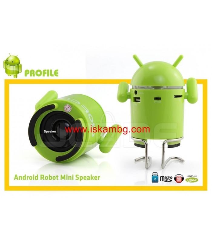 MP3 Тонколонка Android с USB+SDcard - 5