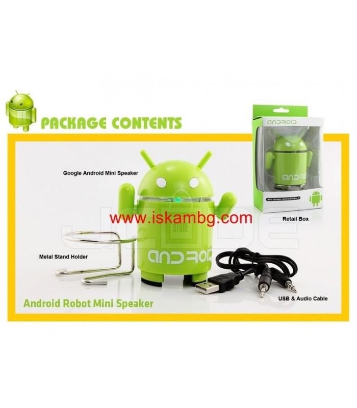 MP3 Тонколонка Android с USB+SDcard - 7
