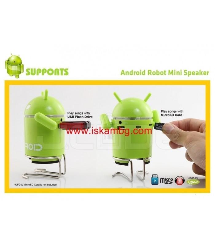 MP3 Тонколонка Android с USB+SDcard - 9