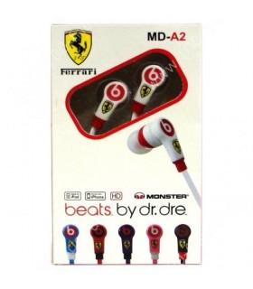Слушалки /тапи/- Beats Вy Dr. Dre- MD- A2, Ferrari