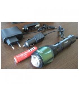Водоустойчив Cree Led фенер със ZOOM 1000 LM - 7