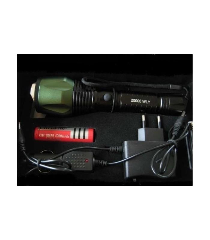Водоустойчив Cree Led фенер със ZOOM 1000 LM - 8