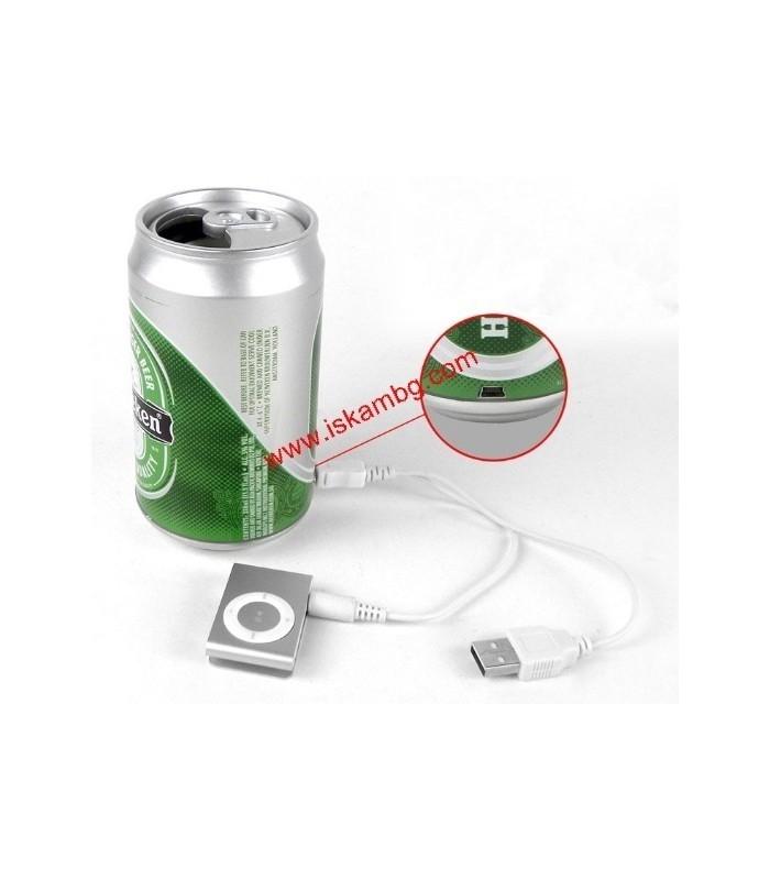 МР3 плейър в кутийка от Heineken - 1