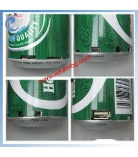 МР3 плейър в кутийка от Heineken