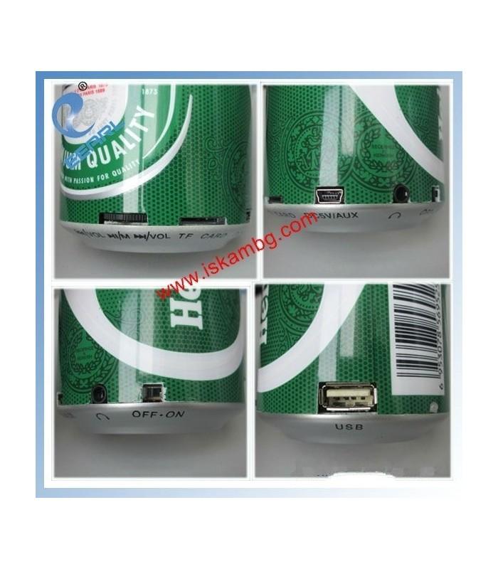 МР3 плейър в кутийка от Heineken - 3