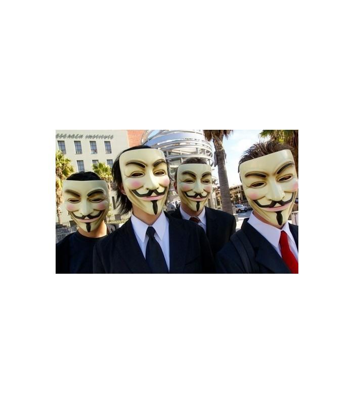 Маска на Анонимните - 1
