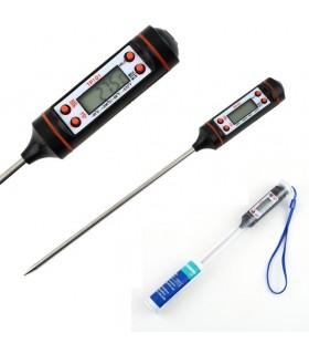 Дигитален Кухненски Термометър със сонда 15см. / Готвене - 2