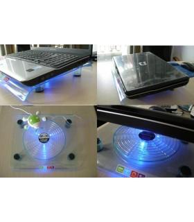 Охладител за лаптоп с голям вентилатор