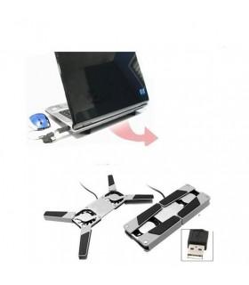 Сгъваем USB охладител за лаптоп