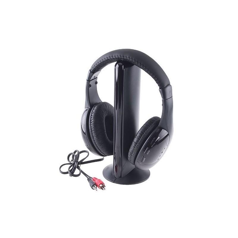 Безжични слушалки 5 в 1 с микрофон